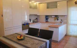 Дизайн кухни гостиной: основные методы зонирования (реальные фото)