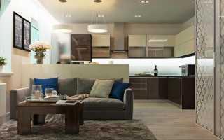 Прямоугольная квартира-студия: советы по зонированию