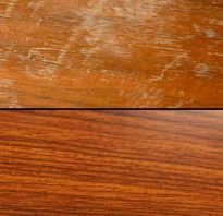 Царапины на мебели, как убрать