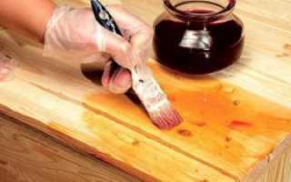 Реставрация лакированного деревянного стола самостоятельно