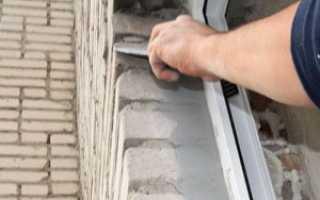 Наружные оконные откосы своими руками; подробная инструкция по монтажу