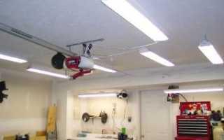 Светодиодные лампы и ленты для освещения гаража: как рассчитать мощность