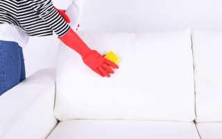 Как очистить белый диван в домашних условиях