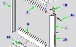 Как починить дверь купе