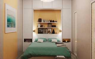 Как обустроить маленькую спальную комнату