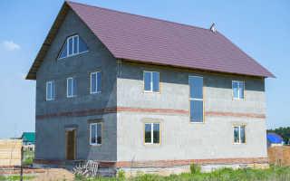 Остекление пеноблочного дома