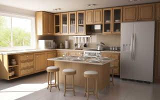 Как вешаются навесные шкафы кухни