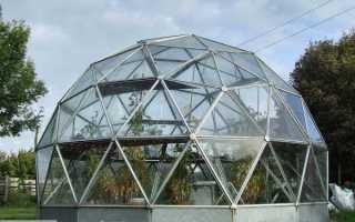 Теплица из поликарбоната круглая