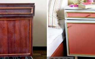 Способы окрашивания лакированной мебели, общие рекомендации и нюансы