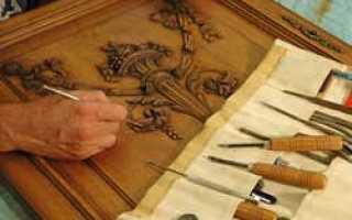 Реставрация любимой мебели из дерева