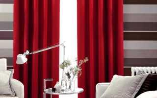 Шторы на люверсах для зала или спальни; 75 фото безупречного интерьера