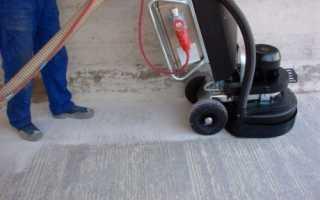 Идеальная поверхность или как производится шлифовка бетонного пола своими руками