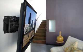 Как надежно закрепить телевизор на гипсокартонной стене