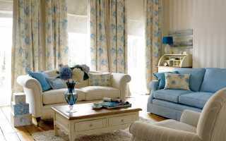 Шторы прованс; фото идеи красивого оформления и сочетания в интерьере