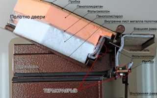 Входные двери с терморазрывом – металлические термодвери для частного дома