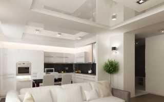 Двухуровневый потолок на кухне (39 фото) – 4 идеи для реализации