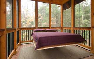 Как своими руками смастерить подвесную кровать для дома или дачи