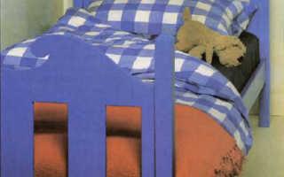 Детская кровать своими руками; отличный подарок любящего отца