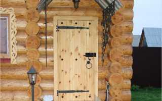 Самостоятельно утепляем дверь в бане