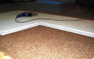 Цементные полы – особенности и преимущества