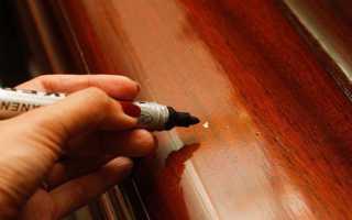 Как убрать царапины на мебели из дерева
