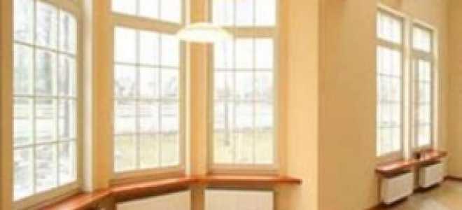 Высота окна от пола стандарт