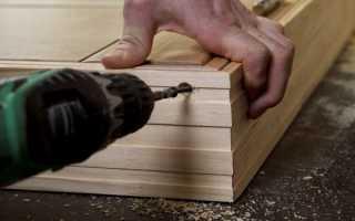 Изготавливаем дверную коробку своими руками