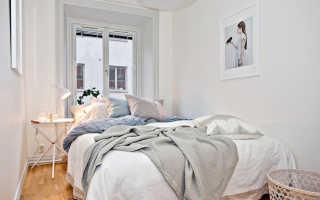 Дизайн узкой спальни: 50 красивых идей