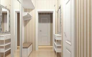 Как подобрать оптимальный дизайн прихожей в квартире в панельном доме (10 фото)