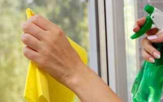 Народные средства для мытья окон своими руками
