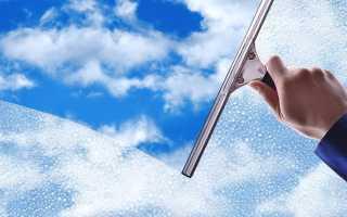 Чем лучше мыть пластиковые окна, чтобы не потели и не было разводов