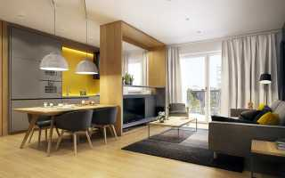 6 главных шагов в правильном дизайне кухни-гостиной площадью 30 кв
