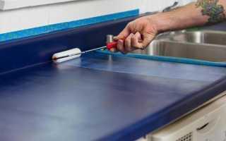 Как покрасить кухонный гарнитур из ДСП?