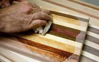 Чем обрабатывают деревянные разделочные доски перед использованием