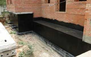 Ленточный фундамент для двухэтажного дома из кирпича