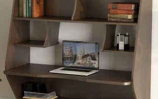 Компьютерный стол Мебелеф кс-1 навесной