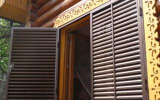 Металлические ставни на окна — способ изготовления