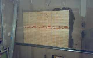 Советы по укладке плитки на стены из гипсокартона
