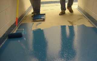 Какая краска по бетону для пола самая износостойкая