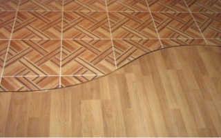 Как правильно сделать стык ламината и плитки без порожка; пошаговая инструкция