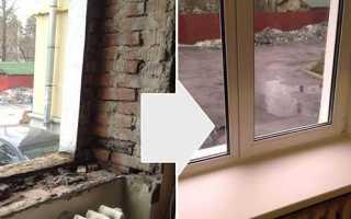Особенности и технология установки пластиковых окон в кирпичном доме