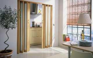 Дверь-книжка в интерьере квартиры