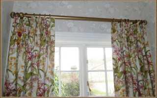 Как крепить карнизы для штор: инструкция для всех