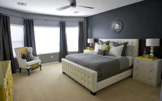 25 нескучных вариантов оформления спальни в серых тонах