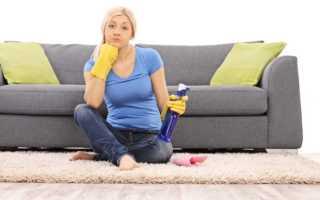 9 способов и средств, чтобы почистить засаленный диван из ткани