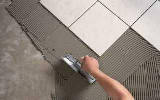 Как клеить плитку на шпаклеванную стену