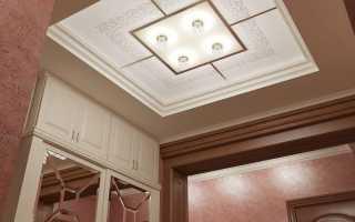 Потолок в прихожей; правила идеального сочетания и дизайна (50 фото)