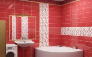 Укладка плитки в ванной: варианты, правила и порядок
