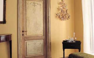 Как самостоятельно обновить межкомнатную дверь: технология ремонтных работ