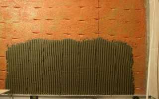 Как клеится плитка на бетонную стену